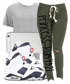 """*"" by princess-kia54321 ❤ liked on Polyvore featuring rag & bone, Native Union and NIKE"