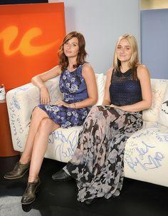 Amanda Michalka - Aly and AJ Michalka Visit Music Choice's 'U&A'