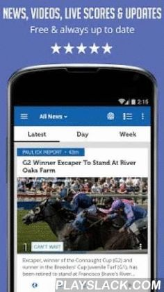 """Horse Racing News - SF  Android App - playslack.com ,  Love horse racing and need an efficient way to stay on top of things? Want to get the latest news & videos about horse racing? Following Kentucky Derby, Breeders' Cup or the Royal Ascot? Horse Racing News is the answer! ***Now with an all-new user interface for better news reading!*** Main Features:* No setup or learning time required. Fire the app for the first time – and immediately see what are the current """"must-know"""" news in the…"""