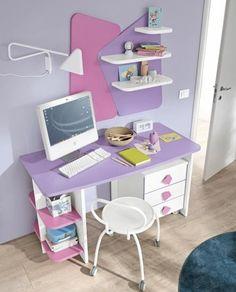 Girls Bedroom Furniture, Kids Furniture, Bedroom Decor, Reading Table, Writing Table, Desk Cabinet, Girl Bedroom Designs, Dream Bedroom, Girl Room