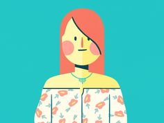 Up next in our Teen Mental Health lineup is the popular girl. People think she& a snob, but really, she& a sweetheart. Character design by Ribeiro Animation by Pontaroli Character Design Teen, 2d Character, Gifs, Popular Girl, Graphic Illustration, Illustrations, Motion Design, Animated Gif, Vector Art