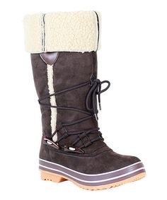 Loving this Coffee Lulu Boot on #zulily! #zulilyfinds