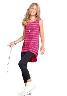 Produkttyp , Kleid & Leggings, |Material , Jersey, |Materialzusammensetzung , Obermaterial: 100% Baumwolle. Unterteil: 95% Baumwolle, 5% Elasthan, |Qualitätshinweise , Hautfreundlich Schadstoffgeprüft, |Farbe , Pink-schwarz, |Pflegehinweise , Maschinenwäsche, |Auslieferung , liegend, | ...