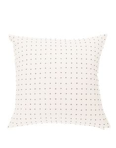 Each purchase empowers artisan women at Anchal Project in India. Beige Sectional, House Essentials, Black And White Pillows, Cross Stitch Pillow, Kantha Stitch, Subtle Textures, Cotton Pillow, Handmade Pillows, Bed Pillows