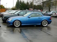 """I guess I owe you a pic of my lowered SLK32 with the 18"""" BBS Le ..."""