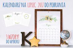 DIY Organizer 2017 do pobrania - planer pdf do druku | Piafka Brain Dump, Gallery Wall, Organization, Frame, Diy, Home Decor, Posters, Getting Organized, Picture Frame