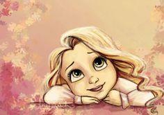 Young Rapunzel by Amy Elizabeth