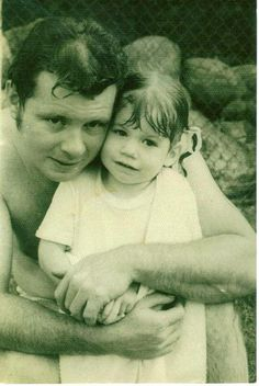 """""""This is me & my dad, James Rhoads. He was the kindest, gentlest, hardworking family man~ he was part of FDNY for 28 years. I am honored that I was able to know my Dad, & have him be the first man I loved! Hes MY HERO ♥"""" ~Pamela"""