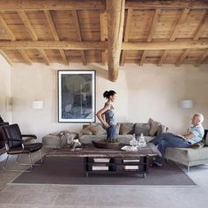 Living room | French converted barn house tour | House tour | Modern decorating ideas | PHOTO GALLERY | Livingetc | Housetohome