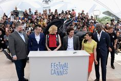 Kit Harington Photos Photos - (L-R) Director Dean DeBlois, actors Jay Baruchel, Cate Blanchett, Kit Harington, America Ferrera and Djimon Hounsou attend the 'How To Train Your Dragon 2' photocall at the 67th Annual Cannes Film Festival on May 16, 2014 in Cannes, France. - 'How to Train Your Dragon 2' Photo Call