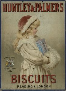 """""""Huntley & Palmers biscuits: Reading & London"""", Placard, s.l., s.a. (Commercial & advertising posters) #Booktower"""