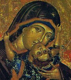 Παναγία η Παυσολύπη. Παλαιολόγεια εικόνα στην Αγία Τριάδα, Μονή Αγίας Τριάδας–Θεολογική Σχολή της Χάλκης, Χάλκη των Πριγκιποννήσων, Κωνσταντινούπολη,β΄ μισό 14ου αι. «Παυσολύπη πανάχραντε, παραμυθία του κόσμου ανύστακτε» συμπόνεσε, τέλος της Άνοιξης που είναι, τα μπουμπούκια που άνθησαν, εκείνα που διόλου δεν το ετόλμησαν, και τ 'άλλα, που ματαίως άνθησαν. http://homouniversalisgr.blogspot.gr/2015/06/blog-post_69.html