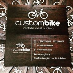 A Custom Bike apresenta um novo conceito de Restauração e Customização de Bicicletas. Siga o novo perfil @custombikevix e conheça um pouco de nosso trabalho que envolve ao mesmo tempo arte sustentabilidade e mobilidade urbana. Marque seu amigo apaixonado por bikes e pedale nesta ideia com a gente!!  #custombike #vadebike #pedalenestaideia #restauração #sustentabilidade #bikes #bikestagram #bikes #maisbikes by custombikees http://ift.tt/1UaudYH