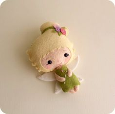 Fairy pdf Pattern by Gingermelon on Etsy, $8.50