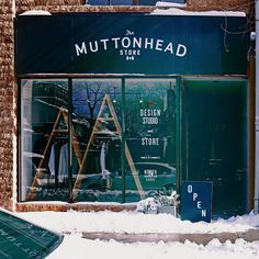 This pile of bricks. #Flagship #Open @muttonheadstore