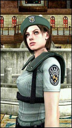Resident Evil Anime, Resident Evil Girl, Evil World, Jill Valentine, Game Character, Female Characters, Anime Manga, Cosplay Costumes, Cute Girls