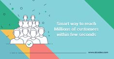 Through SMS Marketing reach your potential customers easiely & smartly in few seconds. To Reach, Marketing, How To Plan, Business, Store, Business Illustration