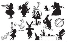 alice in wonderland tea party art - Google Search