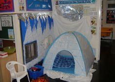 North Pole role-play area classroom display photo - Photo gallery - SparkleBox