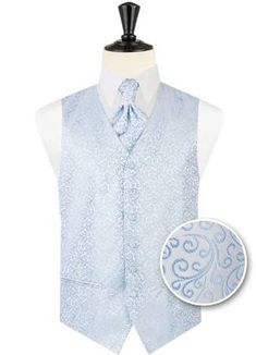 High quality and affordable men's waistcoats for sale. A variety of styles including double breasted and wedding waistcoats. Wedding Waistcoats, Men's Waistcoat, Double Breasted, Light Blue, Vest, Shirt Dress, Mens Tops, Jackets, Shirts