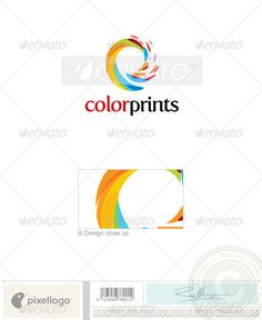 Buy Print & Design Logo - 1882 by pixellogo on GraphicRiver. An excellent logo template highly suitable for design, print and photography businesses. Photography Studio Names, Photography Sketchbook, Photography Logos, Food Photography, Photography Business, Business Logo Design, Business Card Logo, E Design, Print Design
