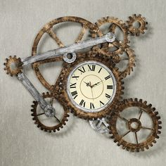 timing gear wall clock