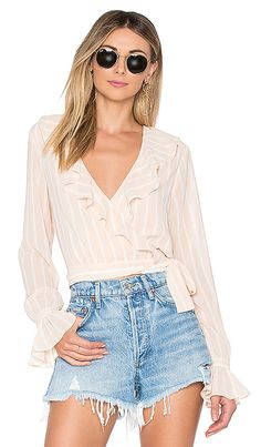 44b0b8bc7a951 online shopping for Tularosa Holly Wrap Top from top store. See new offer  for Tularosa Holly Wrap Top
