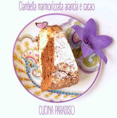 Ciambella marmorizzata arancia e cacao #cucinaparadiso #ciambella #marmorizzata #cacao #arancia #colazione #merenda #donut #cocoa #orange #breakfast