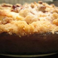 Warm Apple Cinnamon Cobbler | A diabetic friendly dessert that is low in sugar & fat.