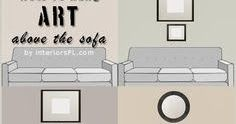 Do you have one big blank space above the sofa? Are you wondering how to fill it? If the number of questions I get about this is any indi...