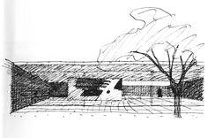 arquitectura + historia: Los Croquis del Maestro Mies van der Rohe