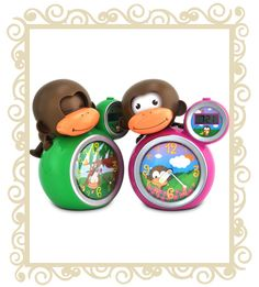 Baby Zoo MoMo Monkey Alarm Clock Sleep Trainer Babies / Children -Pink or Green Toddler Sleep, Baby Sleep, Toddler Clock, Little Babies, Little Ones, Modern Cloth Nappies, Online Toy Stores, Online Shopping, Stay In Bed