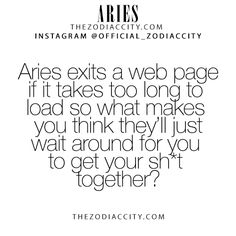 Zodiac Aries Facts! TheZodiacCity.com - For more zodiac fun facts, clickhere.