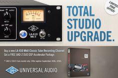 LA610 mk2 + FREE Univeral Audio UAD2 BUNDLE!  ХИТ ЦЕНА! EВРОПСКА ЦЕНА: 1599,oo € АРТИСТ ЦЕНА : 97000,oo ден  Единствена можност  за цената на Universal Audio LA-610 MKII  добивате + UAD DuoCore DSP карта гратис ! *количините се ограничени
