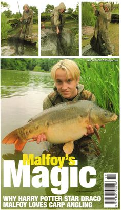 Oh my god Jaime click through to the linked page and read the story about Tom Felton fishing in Tampa. It's lovely. Draco Harry Potter, Hery Potter, Harry Potter Characters, Albus Severus Potter, Snape Harry, Potter Facts, Hermione Granger, Draco Malfoy Aesthetic, Harry Potter Aesthetic