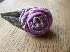 Large purple fabric rose ring made from Liberty by HunterandArgyle, Fabric Roses, Purple Fabric, Gorgeous Fabrics, Liberty, Ring, Unique Jewelry, Handmade Gifts, Etsy, Accessories