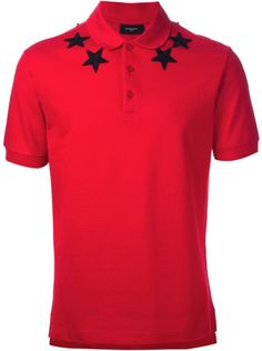 GIVENCHY Red Polo Shirt
