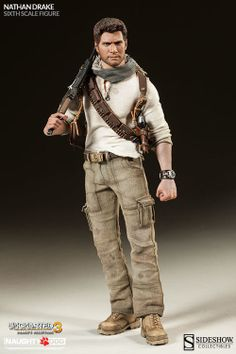 Nathan Drake Sixth Scale Figure (Sideshow Collectibles)