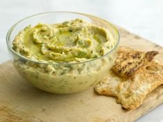 Hummus kicked up a notch with the use of shallots, sesame oil, cilantro and basil!
