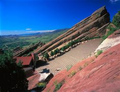 See a concert at Red Rocks Amphitheater in Colorado.