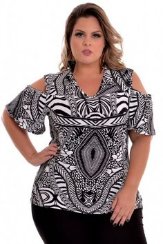 Blusa Plus Size Chilena