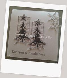 ZieZo Knutsels: Kerst in grijs en wit tinten #2