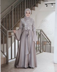 Model Kebaya Muslim, Dress Brokat Muslim, Dress Brokat Modern, Kebaya Modern Dress, Dress Pesta, Muslim Dress, Model Baju Hijab, Model Kebaya Brokat Modern, Hijab Evening Dress