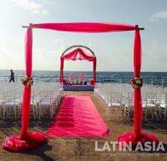 #indiandestinationwedding #cancun #rivieramaya by @weddingcancun