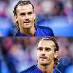 Antoine Griezmann, Messi And Ronaldo, Football, Chris Hemsworth, New Hair, Soccer, Long Hairstyle, Instagram, Barcelona