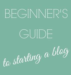 Article on how to start a blog for beginners: If your company does not already use blogging as a social media tool, it is something that is becoming increasingly more popular.