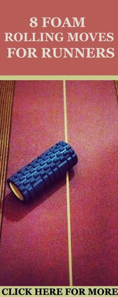 Learn the proper foam rolling technique and the best 8 foam rolling exercises for injury-free running here:  http://www.runnersblueprint.com/foam-rolling-moves-for-runners/ #RunnersWorkout #FoamRolling