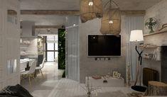 Feminine Apartments Designed