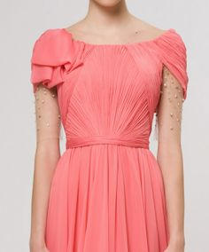 Reem Acra. Super girly. Just wish it were in a cool mint. Pink just ain't my thang.