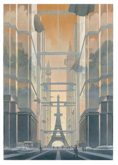 Revoir Paris is an exposition in La Cité de l'Architecture & du Patrimoine in Paris that will open at November 19, 2014. It will give a view on the architectural history of Paris seen through the prism of François Schuiten and Benoît Peeters. The exhibition will be held until March 16, 2015.